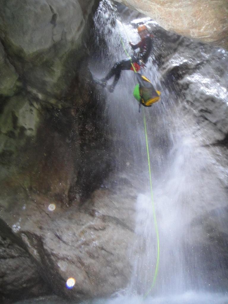 canyoning bergsport im wasser